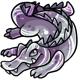 Silver Crikey Plushie