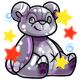 Enchanted Silver Feliz Plushie