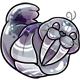 Silver Flab Plushie