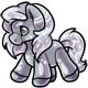 Silver Gonk Plushie