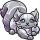 Silver Kaala Plushie