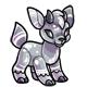 Silver Kidlet Plushie