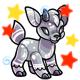 Enchanted Silver Kidlet Plushie
