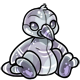 Silver Newth Plushie