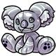 Silver Reese Plushie