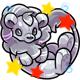 Enchanted Silver Tantua Plushie