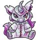 Silver Yuni Plushie