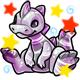 Enchanted Silver Zetlian Plushie