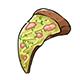 Slice of Sushi Pizza