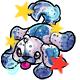 Enchanted Snow Rusty Plushie