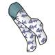 Fish Bone Socks