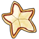 Star Shaped Cheese Pizza
