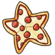 Star Shaped Pepperoni Pizza