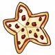 Star Shaped Sausage Pizza