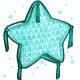 Teal Star Pinata