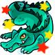 Enchanted Teal Crikey Plushie