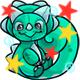 Enchanted Teal Decadal Plushie