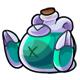 Teal Feliz Potion
