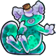 Teal Figaro Potion