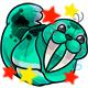 Enchanted Teal Flab Plushie