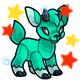 Enchanted Teal Kidlet Plushie