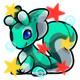 Enchanted Teal Limax Plushie