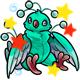 Enchanted Teal Osafo Plushie