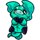 Teal Zoink Plushie