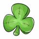 Three Leaf Clover Plushie