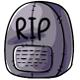 Tombstone Plushie