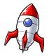 Toy Rocket Ship