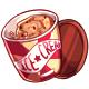 Tub of Cookie Dough Ice Cream