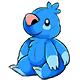Blue Wallop Plushie