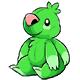Green Wallop Plushie