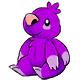 Purple Wallop Plushie
