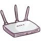 White Wireless Router