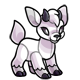 White Kidlet Plushie