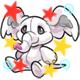 Enchanted White Phanty Plushie