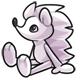 White Rofling Plushie