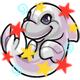 Enchanted White Zoosh Plushie