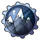 Winter Peaks Stamp