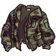 Worn Camouflage Jacket