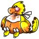 Yellow Stuffed Gobble Plushie