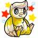 Enchanted Yellow Astro Plushie