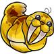 Yellow Flab Plushie