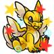 Enchanted Yellow Lorius Plushie