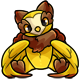 Yellow Walee Plushie