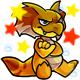 Enchanted Yellow Yakubi Plushie