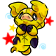 Enchanted Yellow Zoink Plushie