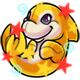 Enchanted Yellow Zoosh Plushie